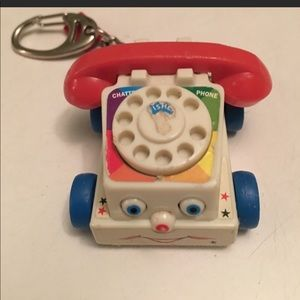 Accessories - Fisher Price Chatter Phone Keychain